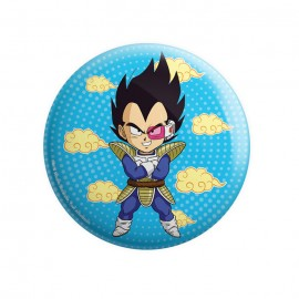 Chibi Vegeta - Dragon Ball Z Official Badge
