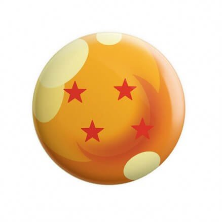 Four Star Dragon Ball - Dragon Ball Z Official Badge