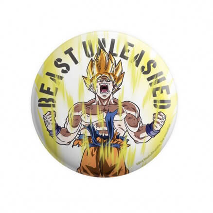 Goku: Beast Unleashed - Dragon Ball Z Official Badge
