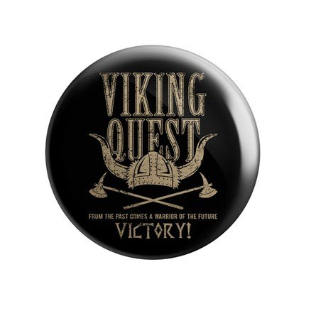 Viking Quest - Victory! - Badge