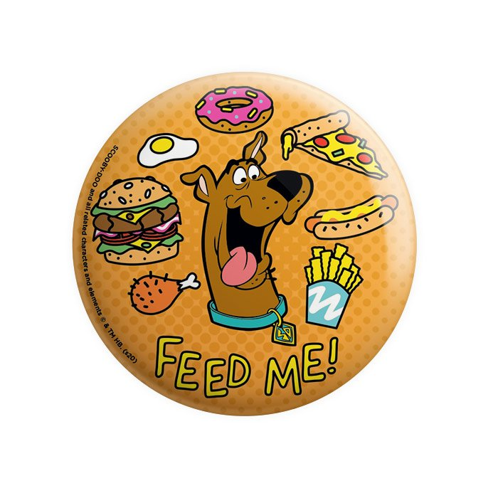 Feed Me - Scooby Doo Official Badge