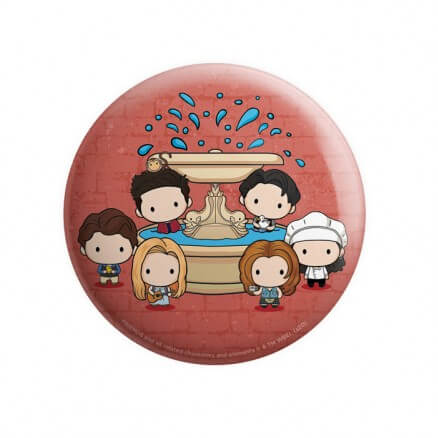 Friends Fountain - Friends Official Badge