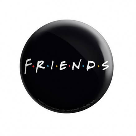 F.R.I.E.N.D.S Logo - Friends Official Badge