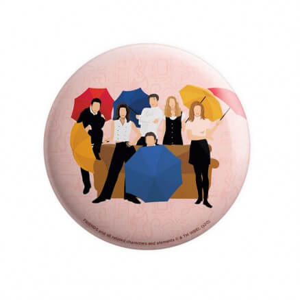Friends: Umbrella - Friends Official Badge