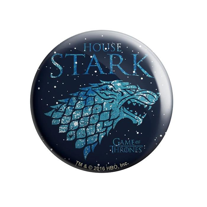 House Stark Ice - Game Of Thrones Official Badge
