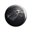 House Stark Metallic Sigil - Game Of Thrones Official Badge