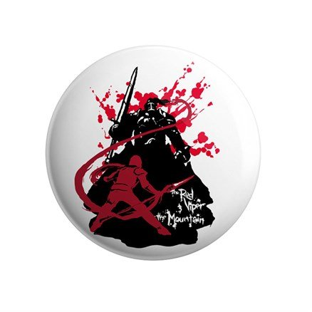 The Red Viper and The Mountain - Badge