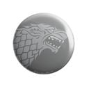 House Stark Tonal Sigil - Game Of Thrones Official Badge
