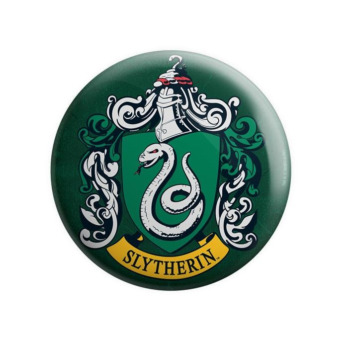 House Slytherin - Harry Potter Official Badge