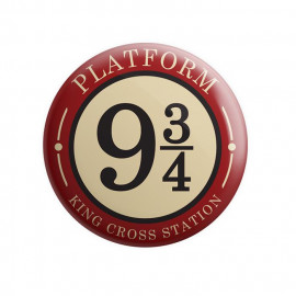 Platform 9 3/4 - Harry Potter Official Badge