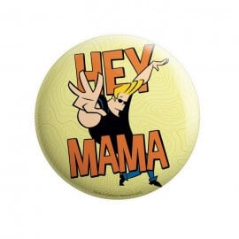 Hey Mama - Johnny Bravo Official Badge