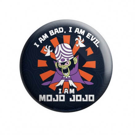 I Am Mojo Jojo - The Powerpuff Girls Official Badge