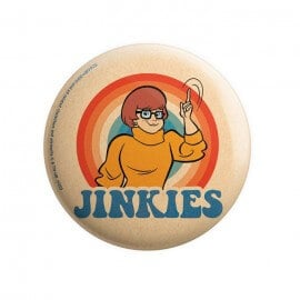 Jinkies - Scooby Doo Official Badge