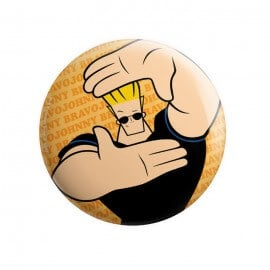 Johnny Bravo: Classic - Johnny Bravo Official Badge