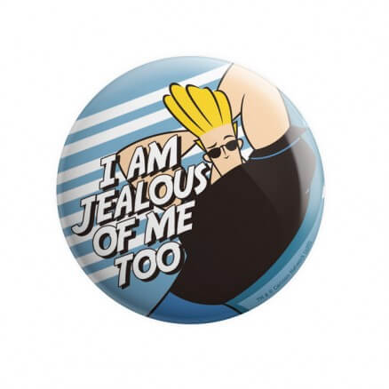 Johnny Bravo: Jealous - Johnny Bravo Official Badge