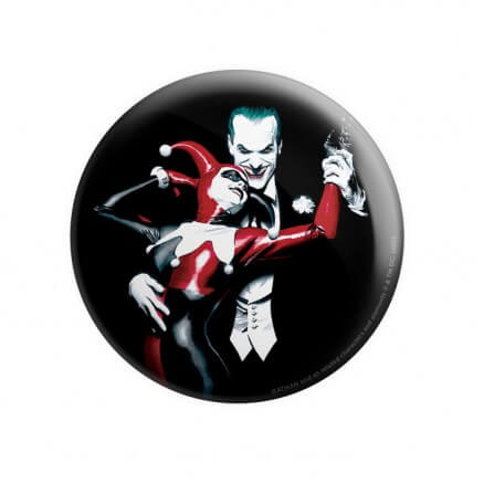 Joker And Harley - Joker Official Badge