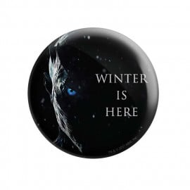 Night King: Winter Is Here - Game Of Thrones Official Badge