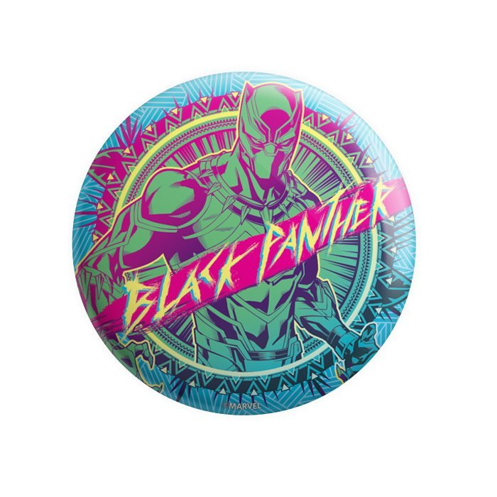 Black Panther Pop Art - Marvel Official Badge