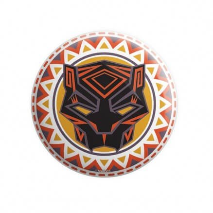 Black Panther Tribal Mask - Marvel Official Badge
