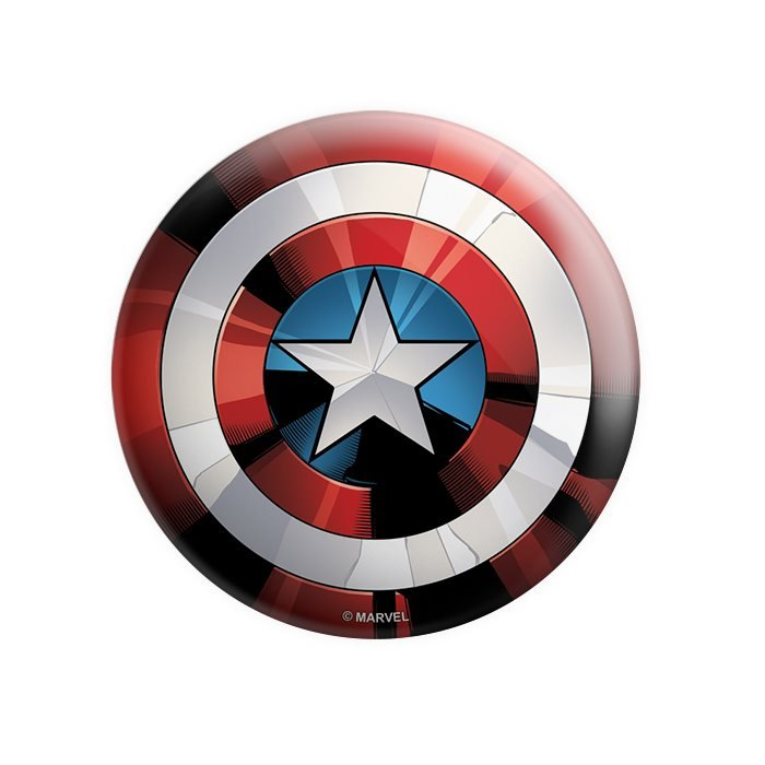 Captain America: Classic Shield - Marvel Official Badge