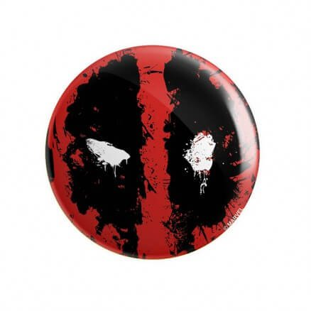 Captain Deadpool - Marvel Official Badge
