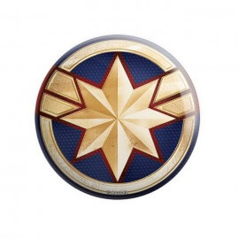 Captain Marvel Emblem - Marvel Official Badge