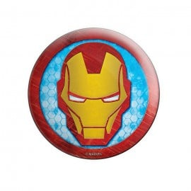 Comic Iron Man - Marvel Official Badge