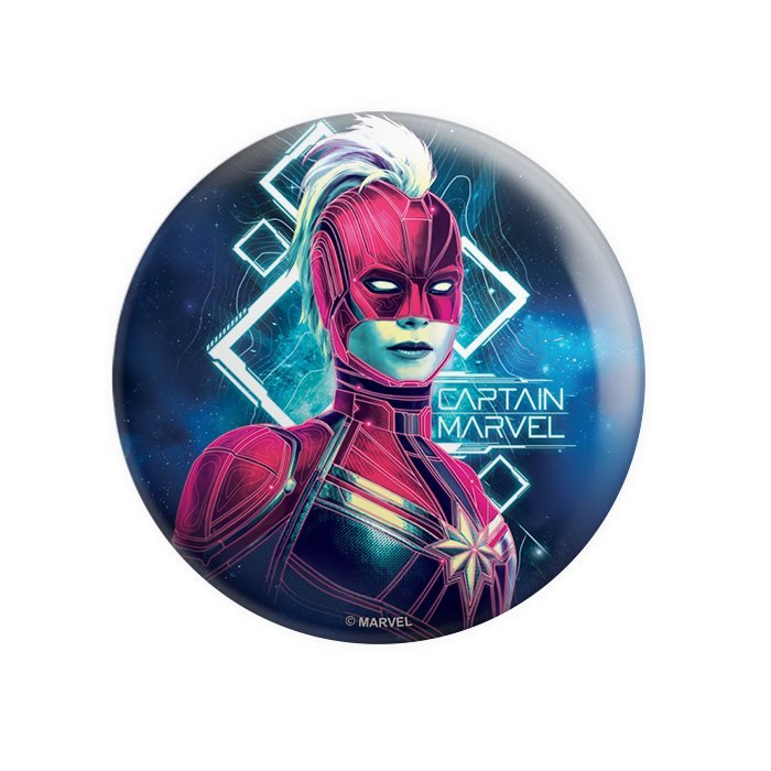 Cosmic Captain Marvel - Marvel Official Badge