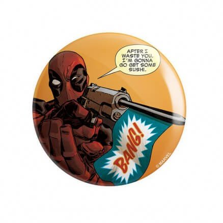 Bang - Marvel Official Badge