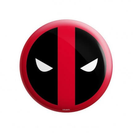 Deadpool Mask - Marvel Official Badge