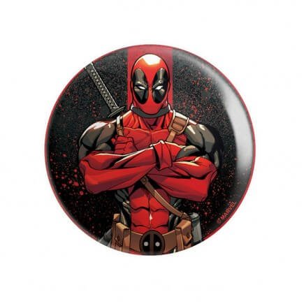 Deadpool Stance - Marvel Official Badge