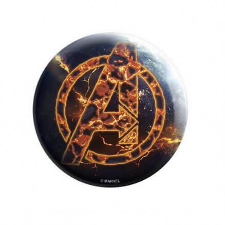 Fiery Avengers - Marvel Official Badge