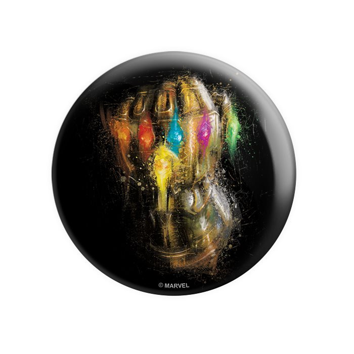 The Infinity Gauntlet - Marvel Official Badge