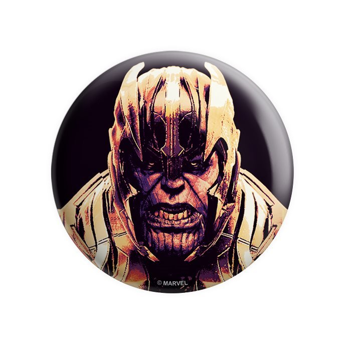 The Mad Titan - Marvel Official Badge