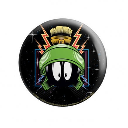 Marvin The Martian  - Looney Tunes Official Badge