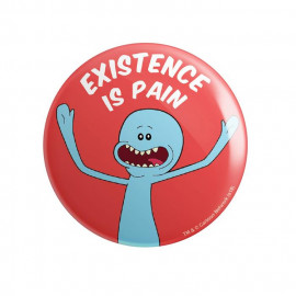 Mr. Meeseeks: Existence Is Pain - Rick And Morty Official Badge
