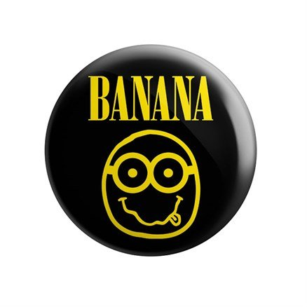 Nirvana Banana - Badge