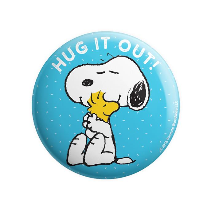 Hug It Out - Peanuts Official Badge