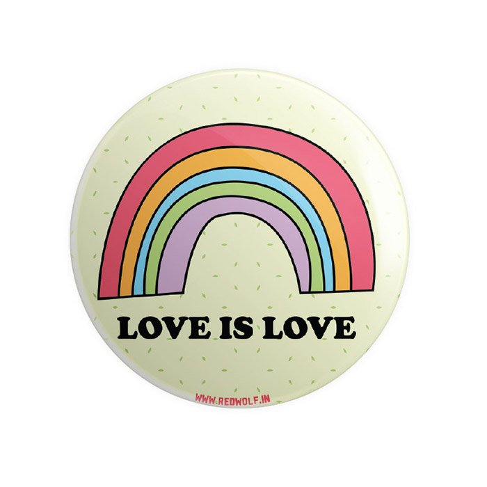 Pride: Love Is Love - Badge