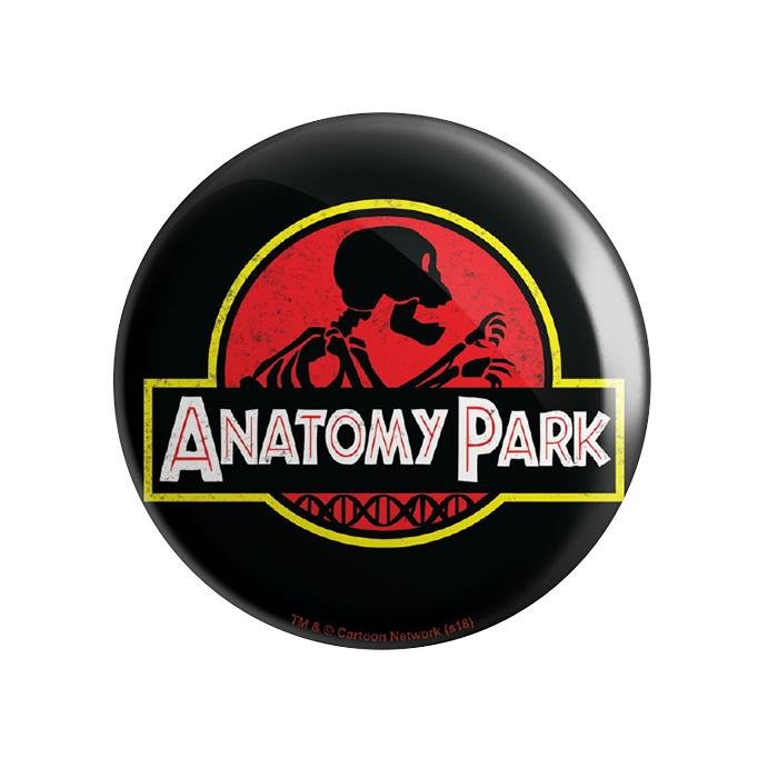 Anatomy Park - Rick And Morty Official Badge