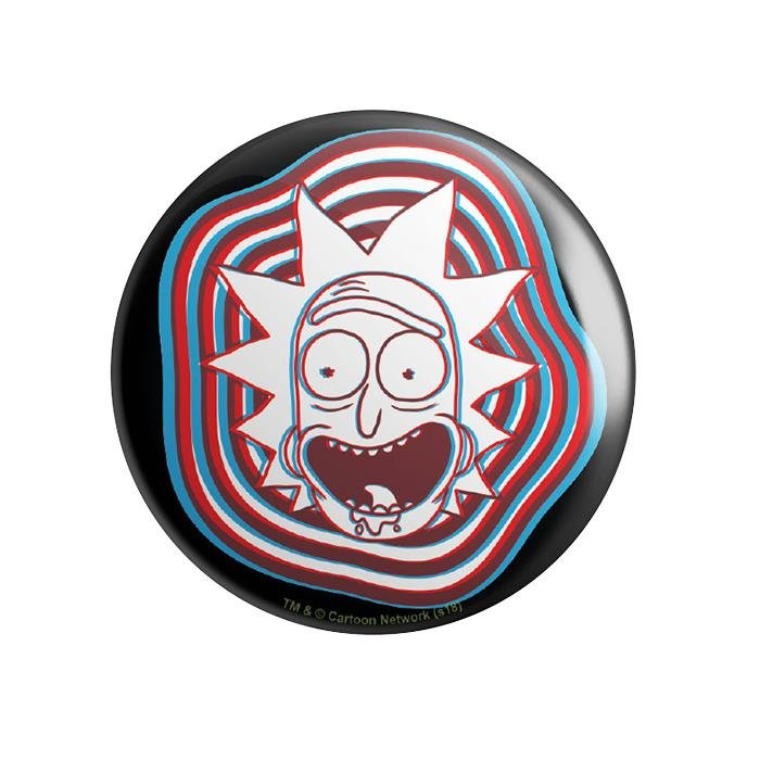 Glitch - Rick And Morty Official Badge