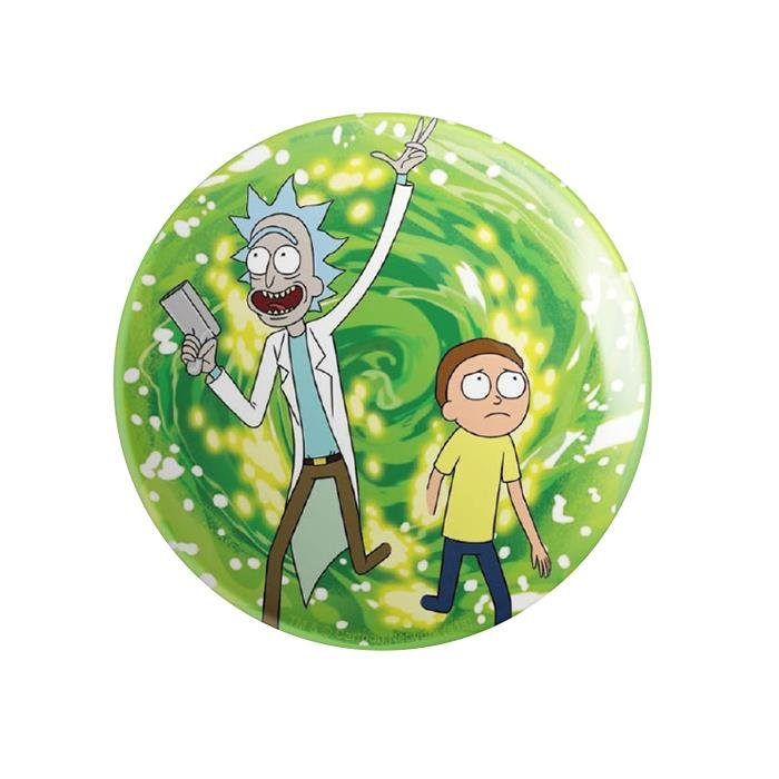 Ricksy Business - Rick And Morty Official Badge