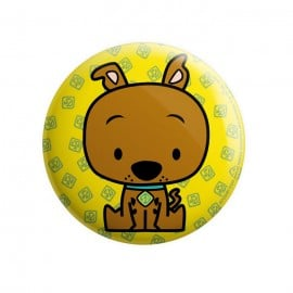 Scooby Chibi - Scooby Doo Official Badge