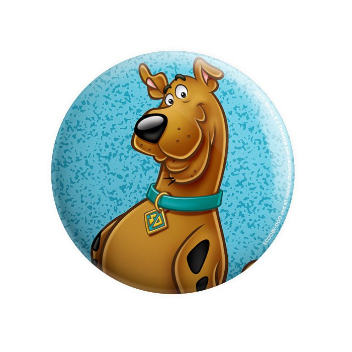 Scooby Face - Scooby Doo Official Badge