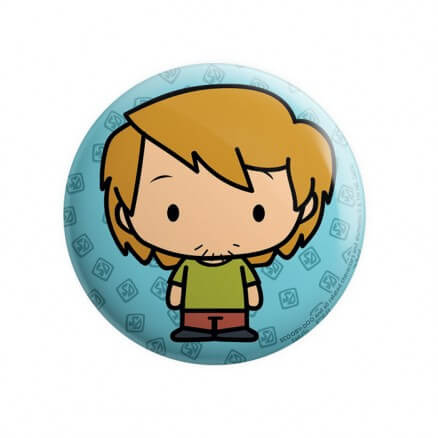 Shaggy Chibi - Scooby Doo Official Badge