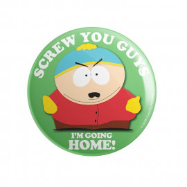 Screw You Guys, I'm Going Home - South Park Official Badge