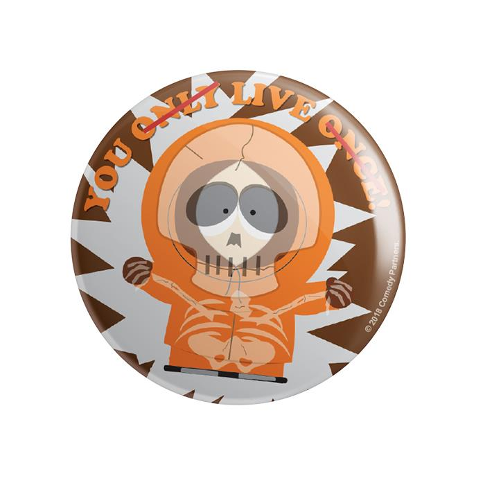 Kenny: You Live Once - South Park Official Badge