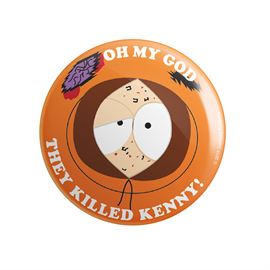 OMG They Killed Kenny - South Park Official Badge