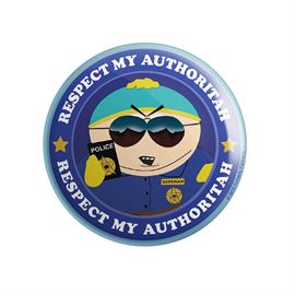 Respect My Authoritah - South Park Official Badge