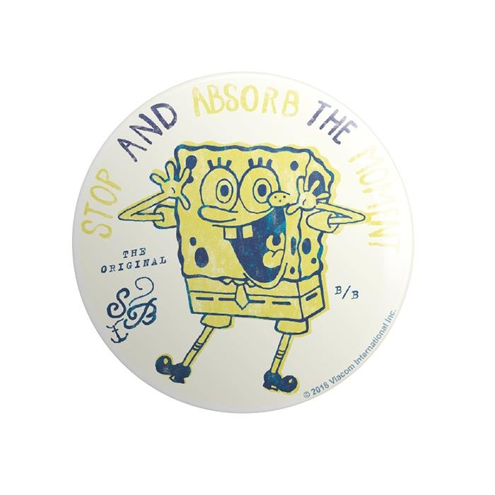 Absorb The Moment - SpongeBob SquarePants Official Badge